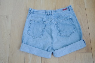 DIY High Waisted Shorts